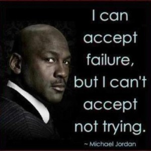 "The more you hear ""no"", the more you'll get used to it. Successful people aren't afraid of rejection because they practiced it so much."